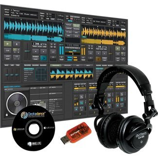 Dj-Tech Mp3 Mixing Package (Headphones, Soundcard, & Software)