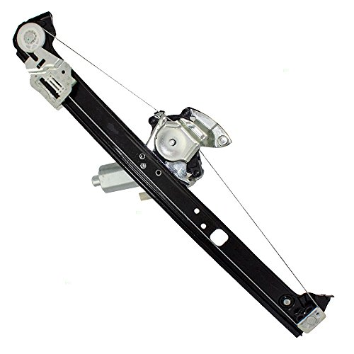 Passengers Rear Power Window Lift Regulator with Motor Assembly Replacement for BMW SUV 51357125060 (2003 Bmw X5 Rear Window Regulator compare prices)