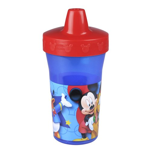 The First Years Slim Line Sippy Cup, Mickey Mouse