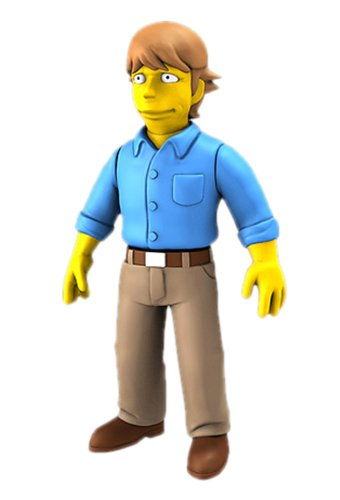 "NECA Simpsons 25th Anniversary - Mark Hamill 5"" Action Figure Series 2 - 1"