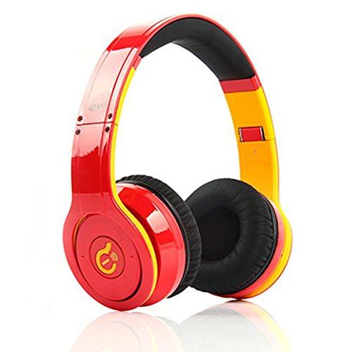 Wireless Bluetooth Syllable G08 Noise Reduction Cancellation Headphones Red
