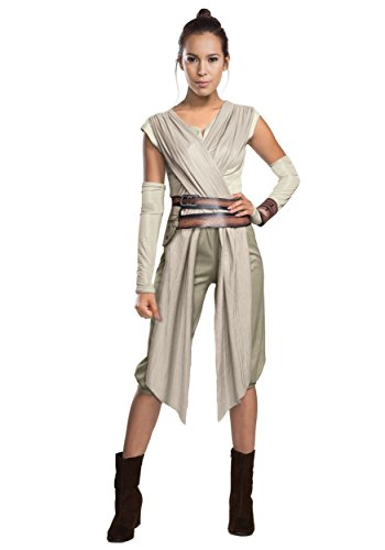 Rubies Costume Co. Inc womens Adult Deluxe Star Wars The Force Awakens Rey Costume X-Large
