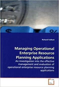 An evaluation of enterprise resource planning