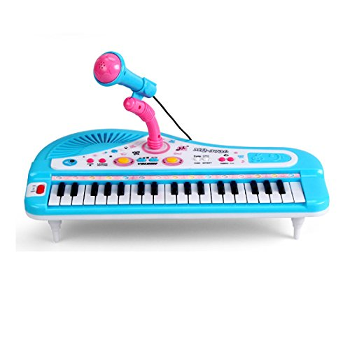 37-Key-Multi-function-Electronic-Organ-Keyboard-Piano-with-Microphone