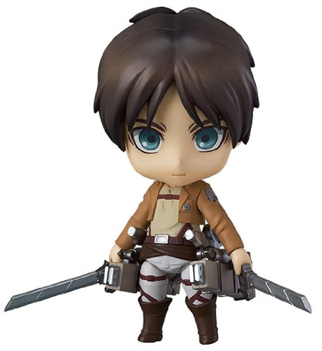 Good Smile Attack on Titan: Eren Yeager Nendoroid Action Figure