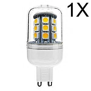 ELINKUME LED Corn light 1XG9 4W Super bright 320-380LM SMD 27*5050 led Corn bulbs AC220-240V Warm White from ELINKUME