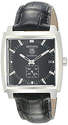 TAG Heuer Men's WW2110.FC6177 Monaco Automatic Leather Strap Watch