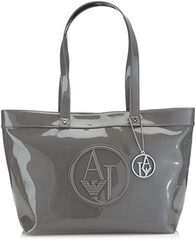 Armani Jeans Shoes & Bags De - 0525Arj, Acquirente da donna, grigio (grigio - grey 2t), 44x28x15 cm (B x H x T)