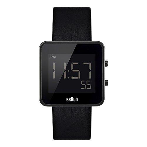 Braun Men's BN0046BKBKG Digital Digital Display Quartz Black Watch (Braun Quartz Watch compare prices)