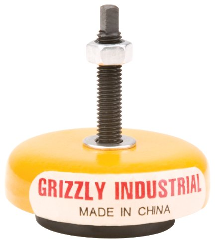Grizzly G7158 Machine Mount, 1-1/2-Inch 800-Pound Capacity grizzly g1870 wood threading 1 inch die