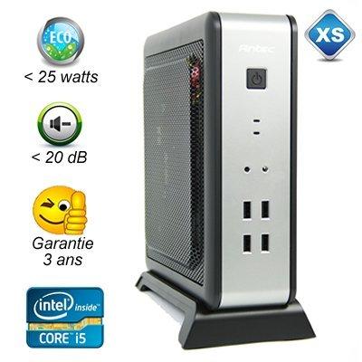 ISK110-LT-4590T - Intel Core i5 - 4Go - 500Go - 20dB max - moins de 25 watts - garantie 3 ans
