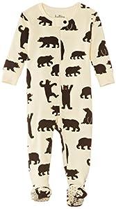Hatley Infant Footed Coverall -Black Bears - Pijama para bebés