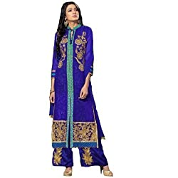 StarMart Beautiful Pakistani Style Womens Georgette Straight Dress Material RSF vol 3 - 7606
