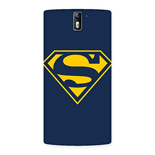 AJAYENTERPRISES Wow S Yellow Supper Back Case Cover for One Plus One