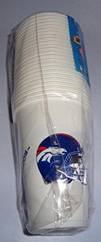 Denver Broncos Official NFL Party Goods/Housewares by Duckhouse (24) Cups