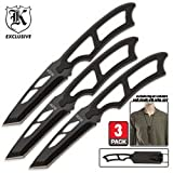 BudK High Tech Survivor 3 Piece Neck Knife Set