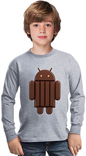 kit-kat-sticks-android-amazing-kids-long-sleeved-shirt-by-true-fans-apparel-100-cotton-ideal-for-act