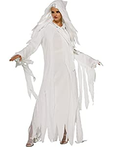 Ghostly Spirit Fancy Dress Costume (adult size 16-18)