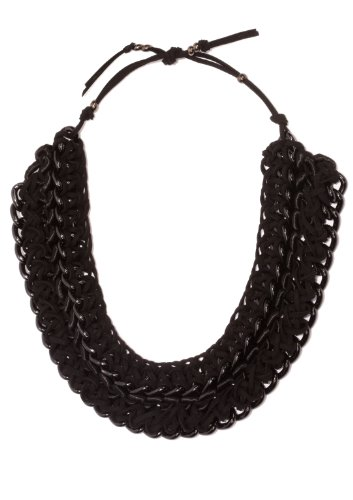 Orly Genger by Jaclyn Mayer, New York - Cleopatra Nikko Collar Necklace - Black