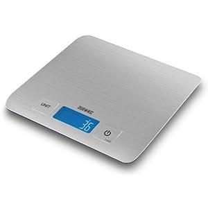 Duronic KS1009 Slim Digital Kitchen Scales