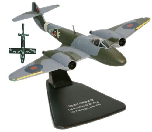 oxford-diecast-modellino-aereo-gloster-meteor-plus-doodlebug