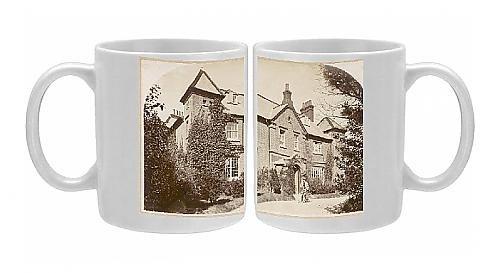 Photo Mug Of Thomas Hardy, English Novelist And Poet, At Max Gate From Mary Evans