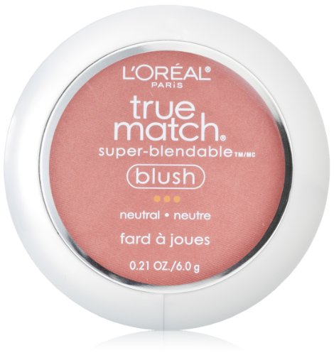 L'Oreal Paris True Match Blush, Apricot Kiss, 0.15 Ounces