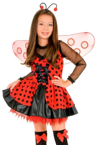 Kids Ladybug Halloween Costume Girls Lady Bug Outfit