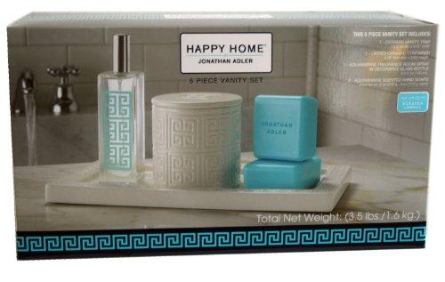 Jonathan Adler Happy Home 5 Piece Vanity Set