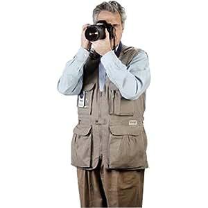 Domke Veste sans manches pour photographe Sable Taille L
