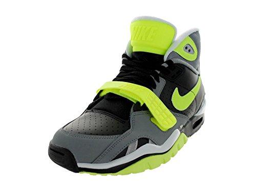 Nike Air Trainer Sc Ii - Black / Volt-Cool Grey-Pure Platinum, 10 D Us front-406778
