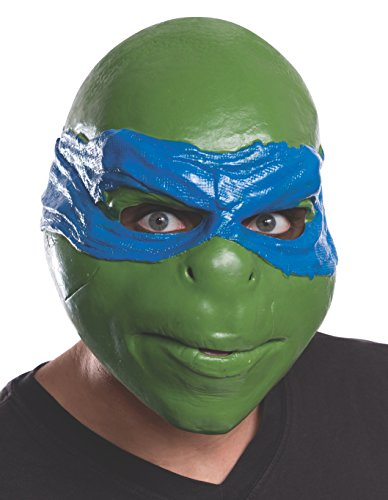 Rubie's Costume Men's Teenage Mutant Ninja Turtles Movie Leonardo Adult 3/4 Mask