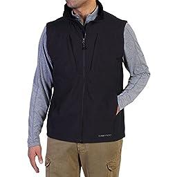 ExOfficio Men\'s Flyq Lite Vest, Black, Large