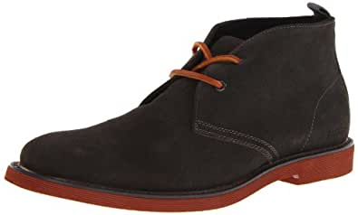 Kenneth Cole Reaction Men's Red About It Chukka Boot,Grey,7 M US
