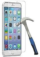 """Film vitre de protection écran iPhone 4/5/6 en verre trempé haute transparence et ultra résistant (incassable, inrayable 9H) et Ultra Slim (0,26mm) avec bords arrondis - pour une protection et un confort d'utilisation optimal de votre telephone (Iphone 6 - 4.7"""")"""