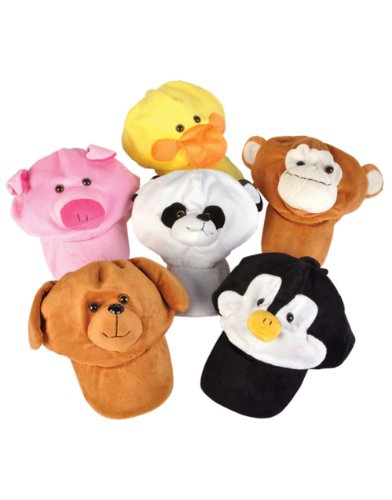 Adult Kids Plush Adjustable Penguin Animal Zoo Baseball Cap Hat Costume