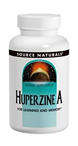 Source Naturals Huperzine A, 200mcg, 120 Tablets