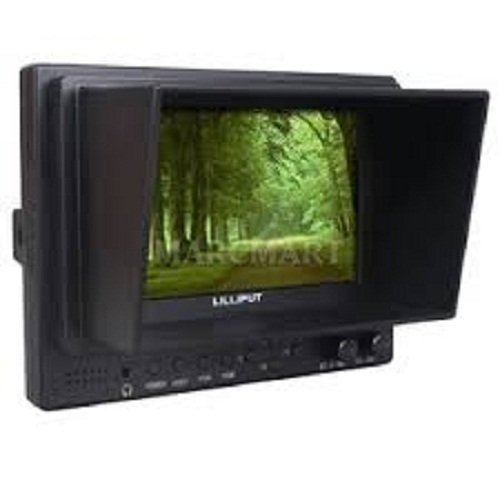 """Lilliput 569Ho 5"""" On-Camera Hd Lcd Fireld Monitor W/Hdmi In Hdmi Out Component In Video In Video Out+ Headphone Jack +Pisen Lp-E6 Battery And Charger By Viviteq Inc"""