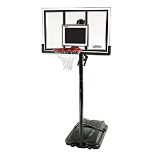 Lifetime 71524 XL Height Adjustable Portable Basketball System, 54 Inch Shatterproof Backboard