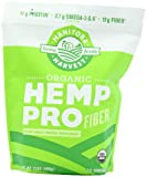 Manitoba Harvest Organic Hemp Pro Fiber Protein Supplement, 32 Ounce