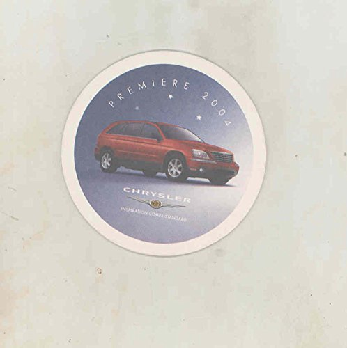 2005-chrysler-pacifica-suv-intro-advertising-drink-coaster