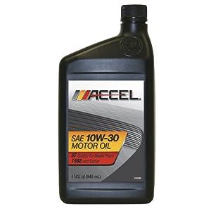 Accel 22500 Sae 10w 30 Sf Motor Oil 1 Quart