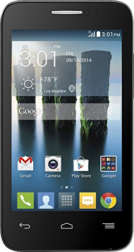 Alcatel One Touch Evolve 2 Black - No Contract T-Mobile