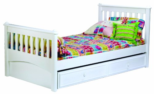 Bolton 9921500 mission bed twin white best deals toys Best deal on twin mattress