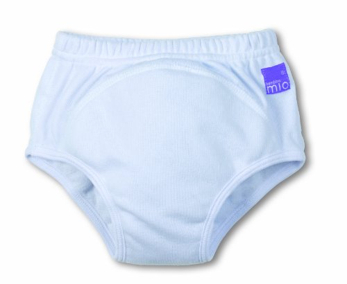 Bambino Mio Training Pants - White-Large front-688676