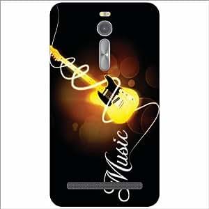 Asus ZenFone 2 ZE551ML Back Cover - Music Guitar Designer Cases