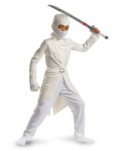 Gi Joe Storm Shadow 4-6 Kids Boys Costume