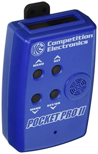Competition Electronics CEI-4700 Pocket Pro II Timer, Blue (Pistol Timer compare prices)