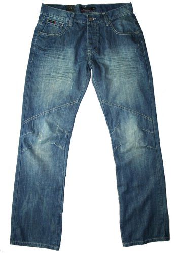 Pierre Cardin men's 134 comfort fit vintage wash jean, 34W 32L