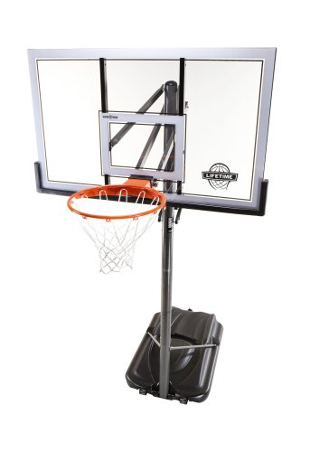 Lifetime 71522 Competition XL Portable Basketball System with 54-Inch Shatter Guard Backboard Lifetime Portable autotags B0013ISJYM